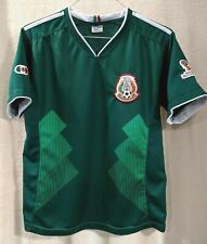 Mexico National 2018 GOOL Green Soccer Jersey Boy's Large World Cup FIFA Russia