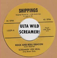 R&B REPRO SCREAMING JOE NEAL-ROCK AND ROLL DEACON/TELL ME PRETTY BABY- SHIPPINGS
