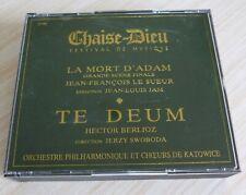 RARE BOX 2 CD ALBUM CHAISE DIEU FESTIVAL DE MUSIQUE LA MORT D'ADAM TE DEUM