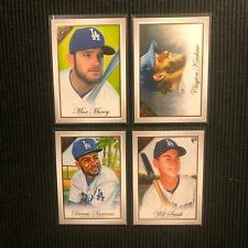 2019 TOPPS GALLERY LOS ANGELES DODGERS TEAM SET 4 CARDS  CLAYTON KERSHAW +