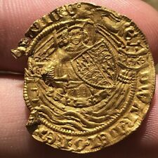 More details for edward iii gold half noble fourth coinage pre-treaty period 1354-1355 series e