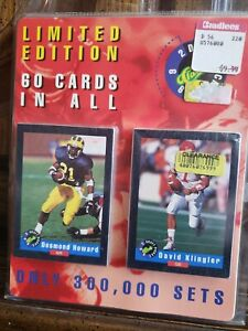 1992 Limited Edition Classic Draft Picks 60 Card Set Certified Set No. 085891