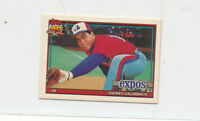 Andres Galarraga 1991 Topps Micro #610 Montreal Expos baseball card