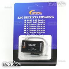 Corona CR8D 2.4GHz DSSS V2 8CH Receiver RX Version II FOR CT8F/CT8J CT3F CT14F