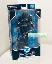DC Multiverse Batman Arkham Origins DEATHSTROKE 7? Figure McFarlane Brand New