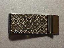 Louis Vuitton Steel Champs Elysees Bill Clip Money Clip LV Wallet M65041 AN0154