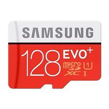 SAMSUNG 128gb EVO-PLUS micro-SDXC Class 10 UHS-I [u1] Scheda di Memoria Adattatore Per Schede SD Inc