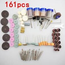 161Pcs Bit Mini Drill Rotary Power Accessory Dremel Grind Multi Tools Kits Set