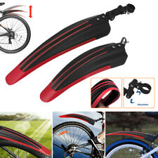 Mountain Bike Bicycle Cycling Tire Front/Rear Mud Guards Mudguard Fenders Set