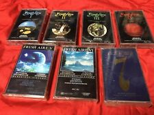 Mannheim Steamroller Fresh Aire I II III IV V VI 7 - 1-7 New Cassettes Tapes