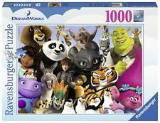 Ravensburger 19693 High Quality Dreamworks Multicha 1000 Pieces Jigsaw Puzzle