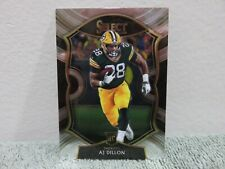 A.J. AJ Dillon 2020 Select Concourse Silver Prizm Rookie RC #65 GB Packers