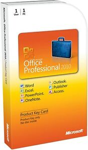 Microsoft Office Professional 2010 Download Link For Windows (1PC/1User)