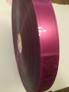 35MM Pink Clear MOVIE FILM LEADER 100 FT FOR EDITING / PROJECTION & CAN