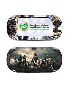 PS Vita Final Fantasy Skin Decal - Protective Playstation Vita Skin Stickers
