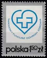 Polen postfris 1975 MNH 2389 - Fonds voor Gezondheid Bescherming