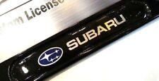 License Plate Frame for Subaru Matte Black Impreza WRX BRZ Legacy Forester