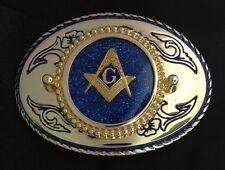 Mason Masonic Freemason Belt Buckle - #226