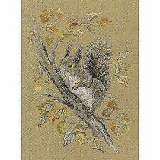 RTO Counted Cross Stitch Kit  -  Autumn Squirrel