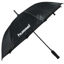 Hummel Umbrella Herren Damen Regenschirm groß automatik schwarz 203158 2001 WOW
