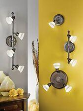 Eglo 89059 Alamo Spot 4x40W G9 brunito + vetro beige lampada parete / soffitto