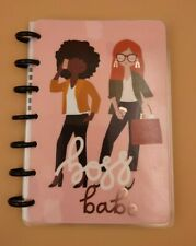 Mambi The Happy Planner Mini Happy Notes Boss Babe 60 Page Notebook Black Disc