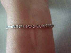 Juwelier Christ Tennisarmband 925Silber rhodiniert Neu