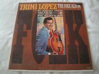 The Folk Album TRINI LOPEZ VINYL LP ALBUM 1965 REPRISE RECORDS LEMON TREE