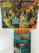 3 1960s Lassie Whitman TV adventure series H/C S Frazee Mountain Bristlecone Lot