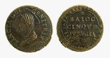 pci4140) PERUGIA - Pio VI (1775-1799) Madonnina 5 Baiocchi