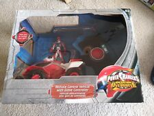 New Power Rangers Operation Overdrive RC Remote Control Car W/Glove 2009 Bandai