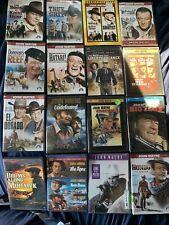New listing John Wayne Western War & Classic Dvd Lot Pick and Choose $4 Flat Rate Shipping