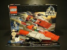 LEGO Star Wars - A-Wing Fighter 7134 - Complete Set Open Box 2000