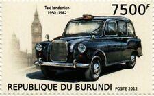 Austin FX4 London Hackney Taxis Taxi coche Sello (2012 Burundi)