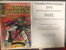 Transfomers (1985) # 3 (en muy buena condición) Precio canadiense variante (CPV)