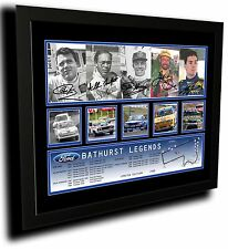FORD BATHURST LEGENDS SIGNED LIMITED EDITION FRAMED MEMORABILIA