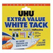 UHU Blanc Punaise Économie 43527 - Paquet De 6