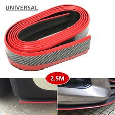 1*Car Body Front Bumper Lip Splitter Body Spoiler Chin Skirt Protector Universal