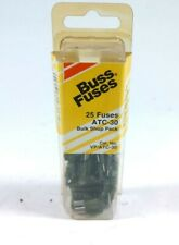 Pack of 25 Fuses Bussmann ATC-30