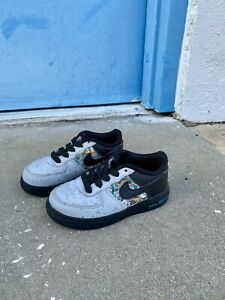 Nike Force 1 LV8 Toddler CQ4218-001 Sneakers Size 9C
