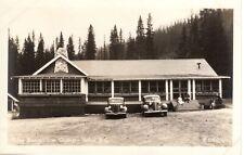Postcard Yoho Bungalow Camp British Columbia BC 1940's