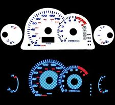 NEW 00-05 mitsubishi Eclipse L4 AT Blue Indiglo Glow White Gauges 00 01 02 03 04