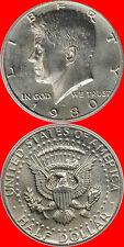 1980 P & D Kennedy Half Dollar Choice/Gem Bu from mint sets 2 coins No Reserve