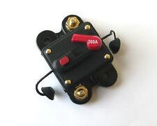 200A CIRCUIT BREAKER FOR 12V CAR A/V SYSTEM PROTECTION