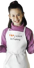 Kids Apron Top Chef In Training | Aprons For Kids | Children Cooking Aprons