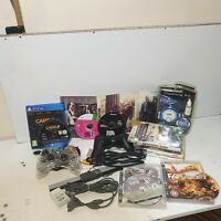JOBLOT VIDEO GAMES / ACCESSORIES - PS3/PS4/XBOX360/WII - CONTROLLERS, AV, MORE