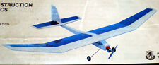 Vintage MONARCH 05 1/2A RC Model Airplane PLAN + Patterns & ConstructionArticle