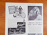 1940 Columbia Bicycle Ad  New Bike for Christmas Oh Boy
