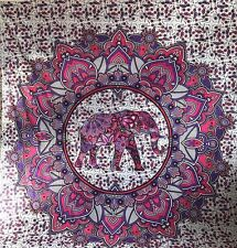 Large Ombre Mandala Tapestry Elephant Indian Wall Hanging Bedspread Throw UK