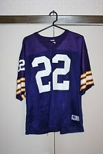 Russel Athletic VTG MN Vikings Palmer #22 Football Jersey Home Purple Men 48 NFL